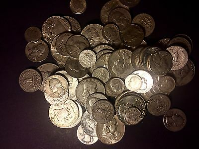 Silver Coins ALL 90/% Junk Silver Coins Pre 65 ONE1 GREAT 1//2  LB 8 OZ Mixed U.S