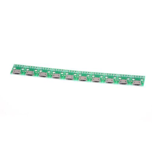 10x mini micro USB para DIP adaptador de 5 pines conector hembra *ws