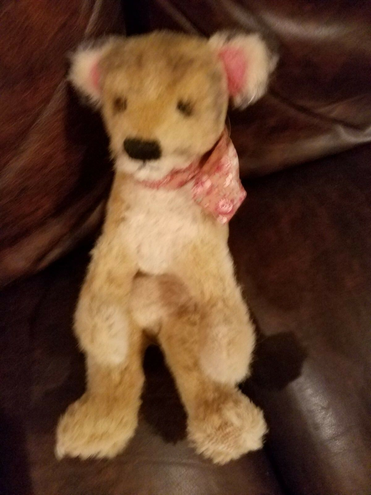 Antique Marronee  Mohair Bear  12  legs included not jointed
