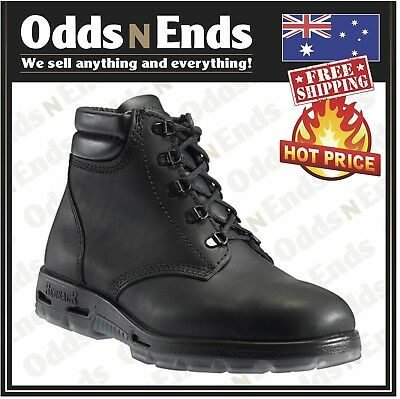 search for official shades of enjoy cheap price NEW - Redback Work Boots UABK Soft Toe BLACK Lace Up Boot - Australian Made    eBay