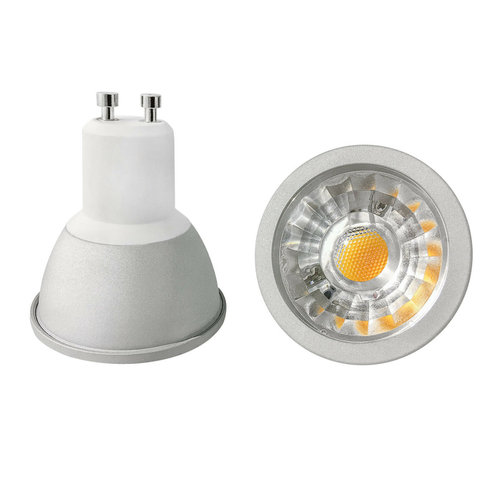 10x LAMPADINA LED SPOT LED gu10 5 5 5 Watt 450 LM 2.800 K DIMMERABILE warmweiss 2a3542