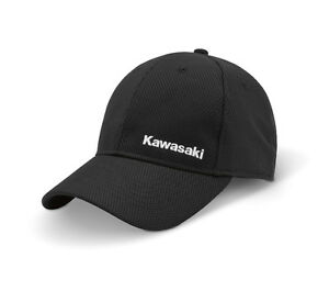 778bdcb2d Details about Kawasaki Mesh Hat in Black - Size Small - Genuine Kawasaki -  Brand New