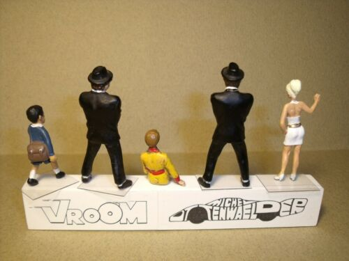 5  FIGURINES 1//43  SET 430  LES  BLUES  BROTHERS  VROOM  UNPAINTED  NO  NOREV