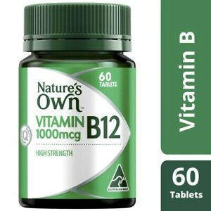 Nature's Own High Strength Vitamin B12 1000mcg Tablets 60 pack