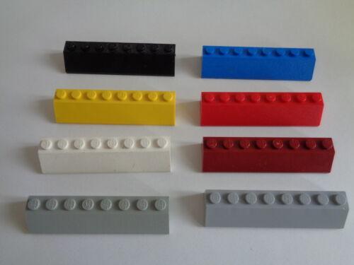 4445 LEGO briques inclinées brick slop 45 degrés 2x8 choose color and quantity