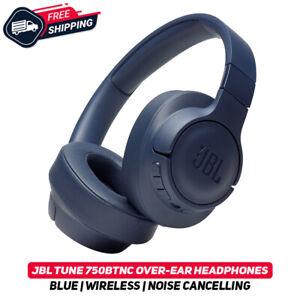 JBL TUNE 750 btnc Azul Inalámbrico sobre la oreja los Auriculares con cancelación de ruido Nuevo Active