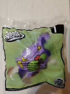 LOT OF 6 BURGER KING HALLOWEEN SILLY SLAMMERS TOYS NEW UNOPENED