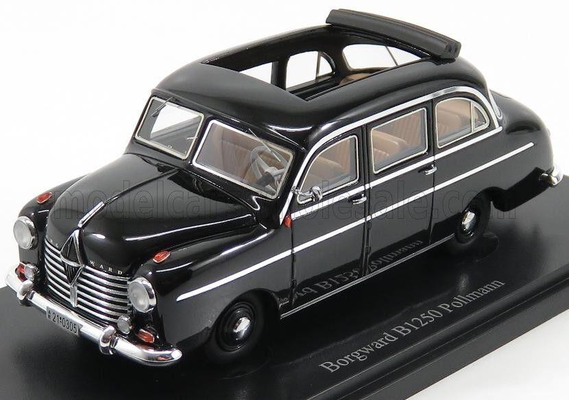 Merveilleux autocult-MODELvoiture  BORGWARD B125 PollhomHommes 1951-Noir-ltd.333 -1 43  acheter des rabais