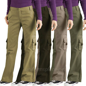 fe38fc120f9d3 Women s Cargo Pants Dickies Women Relaxed Fit Cargo Pocket Pant ...