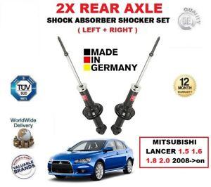 fuer-Mitsubishi-Lancer-1-5-1-6-1-8-2-0-2008-gt-2-x-hinten-links-rechts-Stossdaempfer