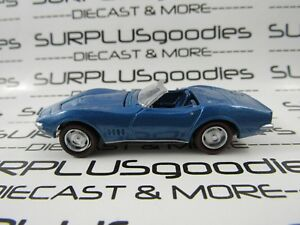 Johnny-Lightning-1-64-LOOSE-Collectible-Blue-1968-CHEVROLET-CORVETTE-Convertible