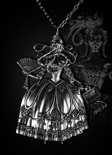Restyle collar Victorian steampunk Gothic Necklace Octopus Lady barroco hr16