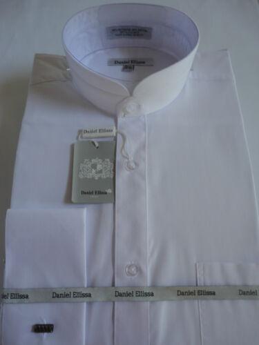 Victorian Men's Shirts- Wingtip, Gambler, Bib, Collarless Banded Victorian Style Collar French Cuff Dress Shirt DS3002C $45.50 AT vintagedancer.com