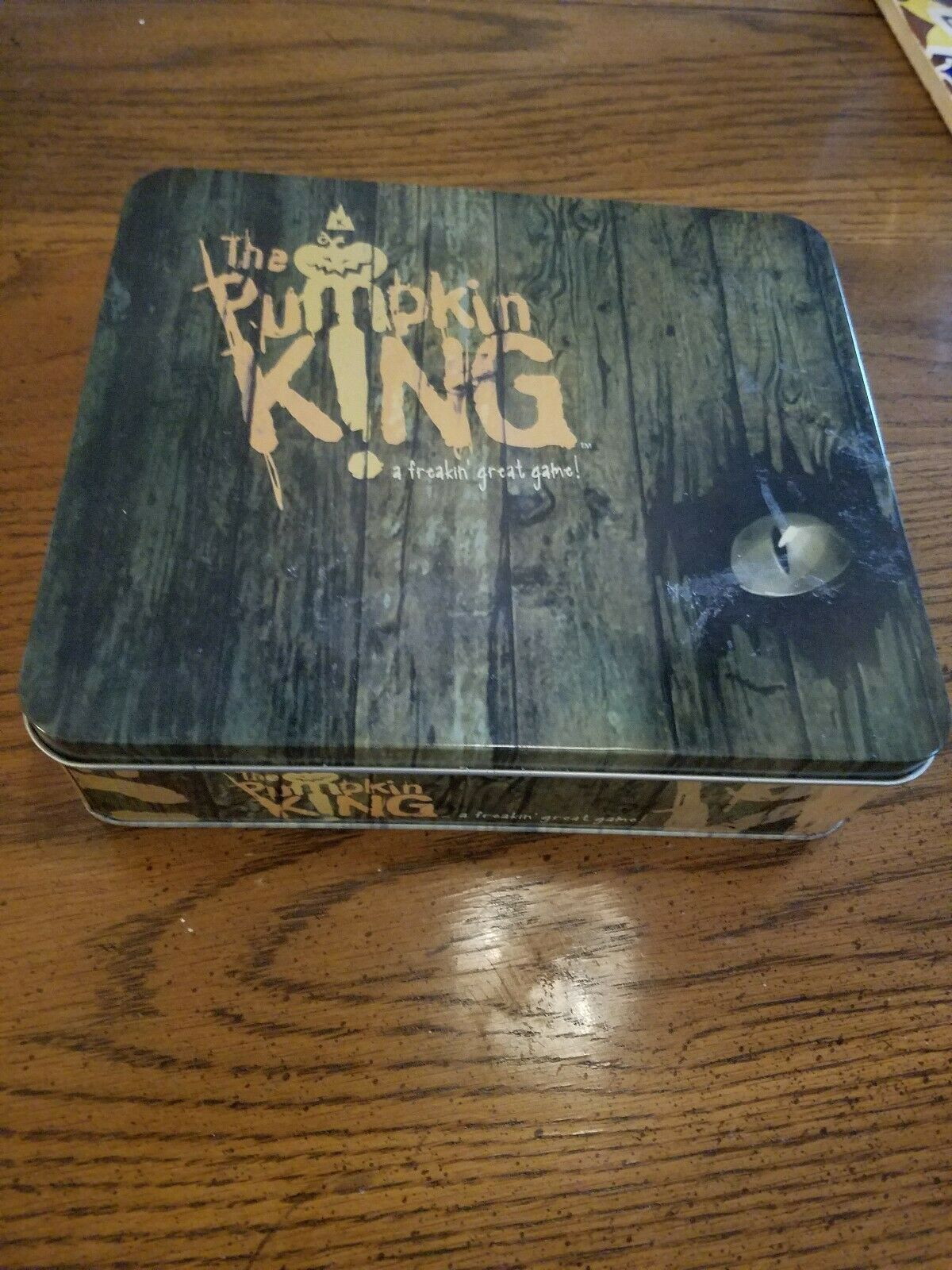 The Pumpkin King Board Game. In Tin 2005 100% Complete.