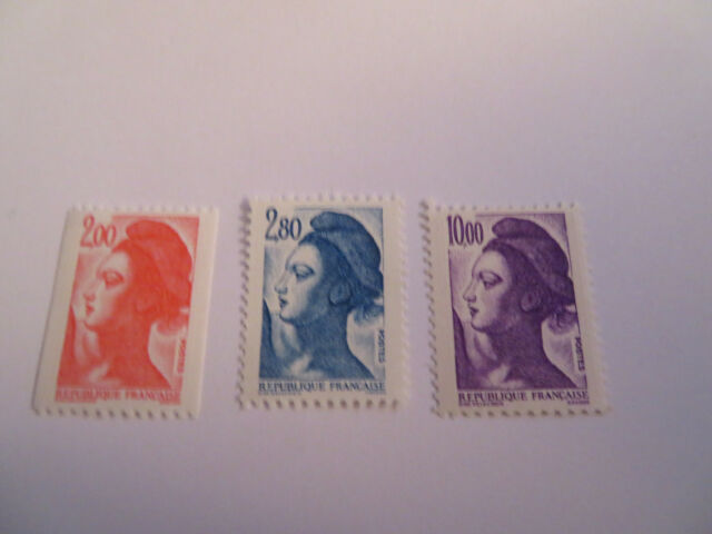 TIMBRES FRANCE NEUFS 2274/2275/2276  type LIBERTE