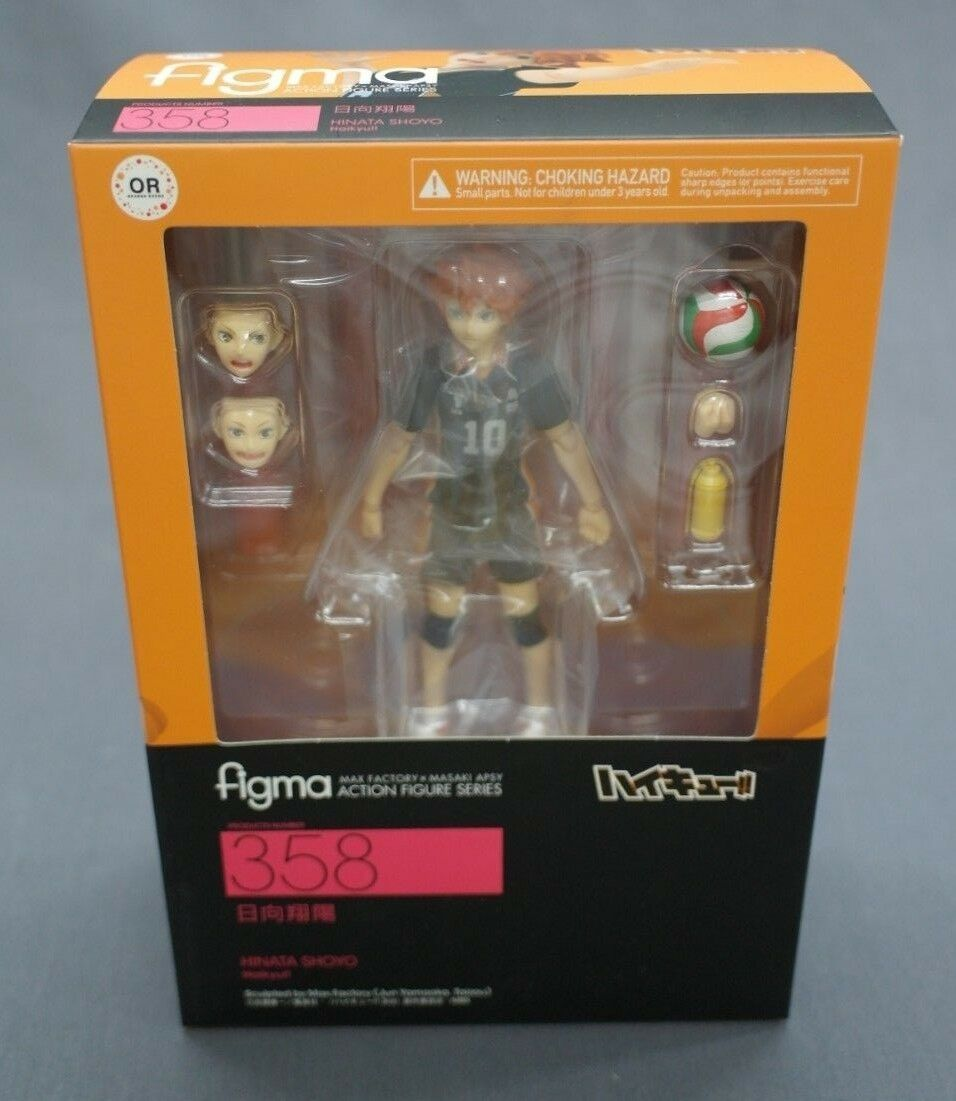 Haikyuu   Figma Hinata Shouyou orange red Good Smile Company Japan NEW