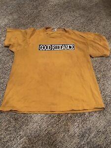 Good-Riddance-Shirt-XL-Punk-Hardcore-Fat-Wreck-Chords