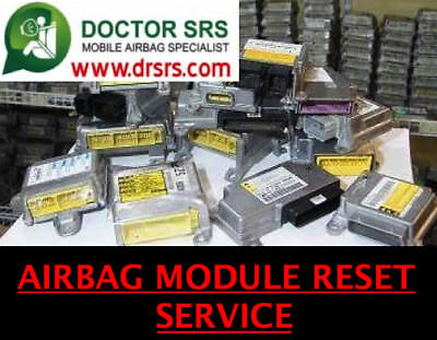 Cadillac CTS SRS Airbag Module Reset Clear Crash Data Hard Codes Light Reset