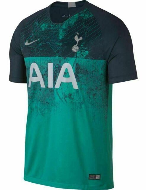 sneakers for cheap 99c00 12e41 2018/19 Nike Tottenham Hotspur Spurs 3rd Soccer Kit Jersey Large L RARE