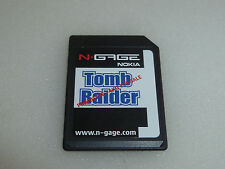 NGAGE VIDEO GAME CARD TOMB RAIDER LARA CROFT NOKIA PROTOTYPE RARE NFRS N-GAGE >>