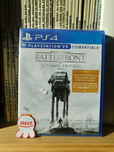 Battlefront - STAR WARS ultimate edition / PS4 PS5 / PS VR compatible ** NEUF **