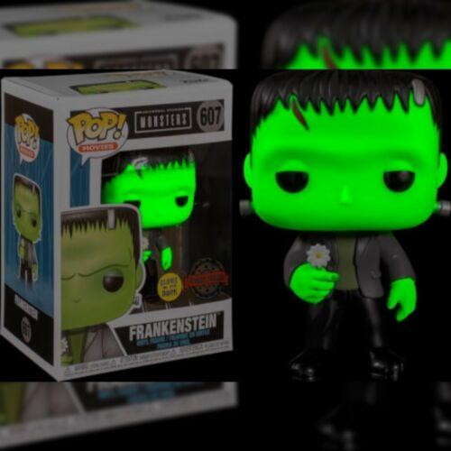 Frankenstein con mostri Universal Fiore GITD EXC Funko Pop!