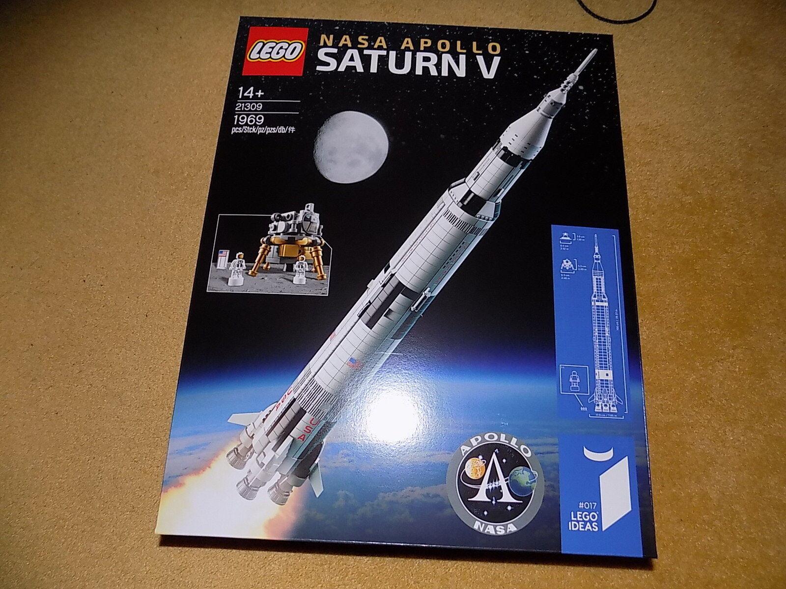 Lego Idées 21309 21309 21309 NASA Apollo Saturn V NEUF 25beb2
