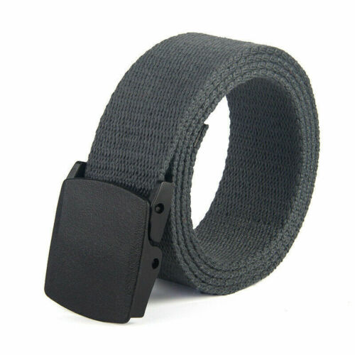 Belt Leisure Outdoor Men Military Gentleman Tactical Breathable  Waist Canvas