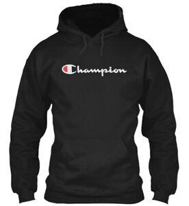 New-CHAMPION-Mens-LONG-SLEEVE-T-Shirt-SCRIPT-LOGO-Supreme-Athletic-HOODIE
