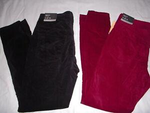 Mossimo-Denim-Women-039-s-High-Rise-Super-Stretch-Velvet-Velveteen-Skinny-Jeans