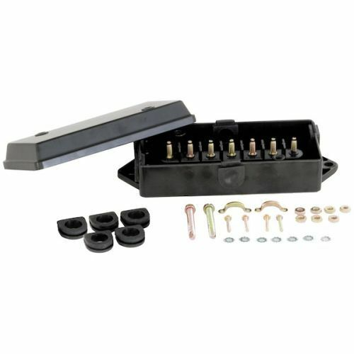 Buyers Products 5601101 Polypropylene Electrical Junction Box with 7 Terminals