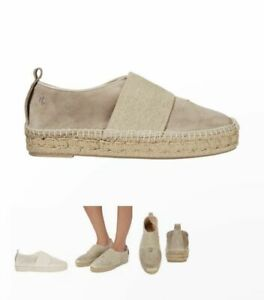 RAG-amp-BONE-New-York-Nina-Beige-Suede-Espadrilles-Flats-Shoes-39-8-5-9-New