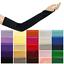 Fingerless-Stretch-Satin-Gloves-Elbow-Opera-Long-Ball-Evening-Party-Fancy-Dress thumbnail 1