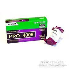 Fuji Pro 400H 400asa Color de impresión Rollo de película-solo 120