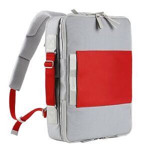 3d944b0f7703 Image is loading Boussole-BS-BP102RD-Red-Backpack-for-Macbook-Pro-