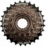 Shimano Tourney Mf-tz21 7 Speed Bike Multiple Freewheel 14-28t Steel