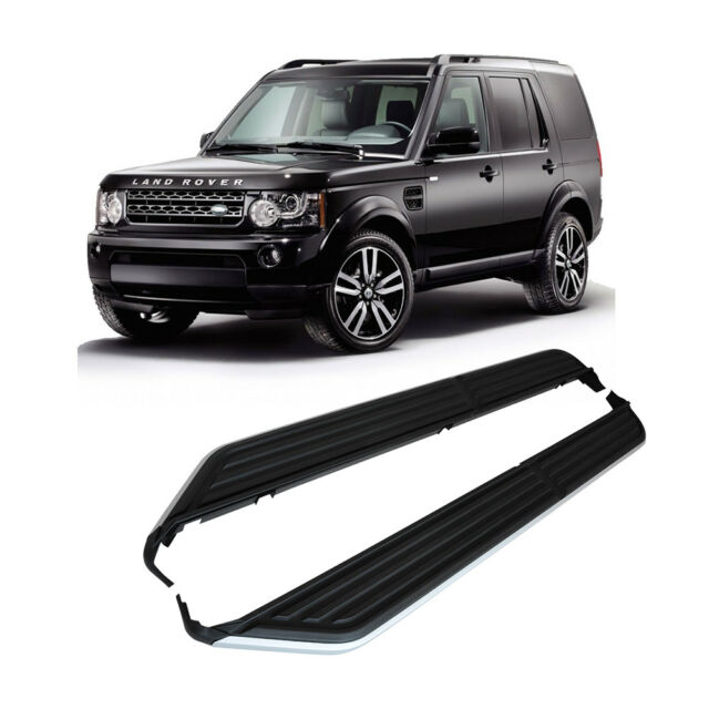 Side Steps Fit for Land Rover Discovery 3/4 2004-2016 Running Boards Sturdy Pair