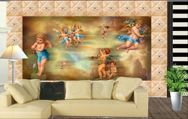 3D Angel Painting 447 WallPaper Murals Wall Print Decal Wall Deco AJ WALLPAPER