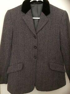 """Enthousiaste Mears Veste En Tweed Taille 30""""-afficher Le Titre D'origine Une Offre Abondante Et Une Livraison Rapide"""