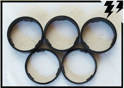 MT ZOOM Ultralight Carbon Headset Spacers x5 tune it extralite World/'s Lightest