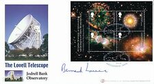 Buckingham's First Day Cover 2002, The Lovell Telescope Signed by Bernard Lovell