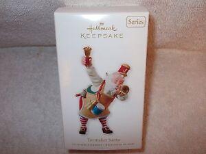 Hallmark-Keepsake-2010-Toymaker-Santa-Christmas-Ornament-Series