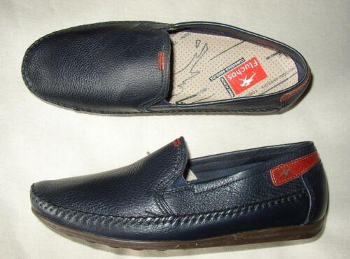 resbalones para 5uk 7 nuevos 7 para zapatos 6 hombre hombre Mocasines de cuero Fluchos 5us 40eur vfxpw6w8Eq