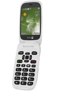 NEW-Doro-6520-Big-Buttons-3G-Mobile-Phone-Unlocked-SIM-Free-1YR-Champagne
