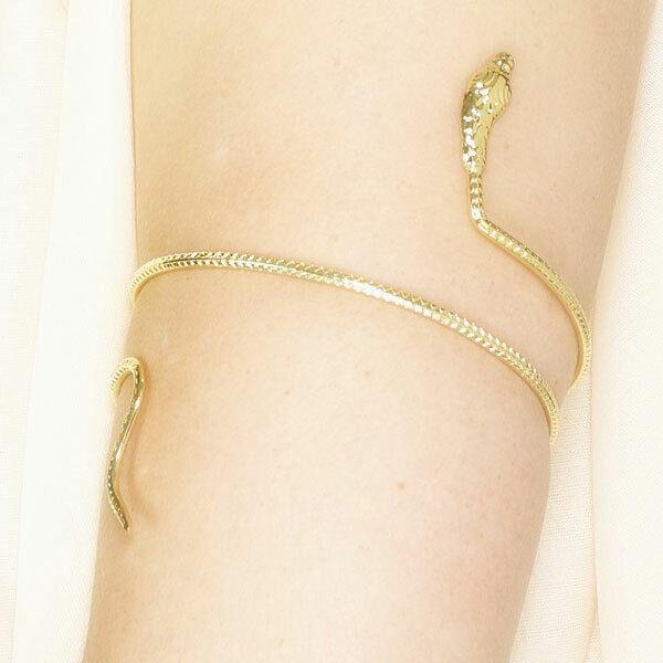 Egyptian Snake Arm Bangle Cleopatra