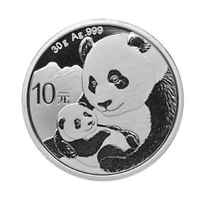 Silber-Panda-2019-30-Gramm-g-Silver-Argent-China-Chinese