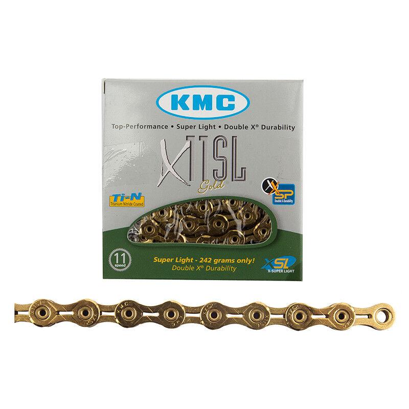 Kmc X11SL Catena Kmc 1   2x11 128 X11sl 11s Ti   GD 116l Cpy   Srm   Shi