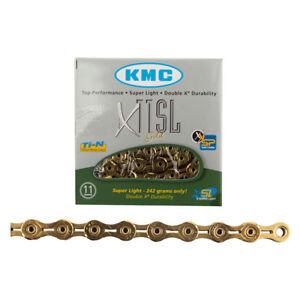 New KMC X11SL Chain 11-Speed 116 Links Ti Nitride Gold