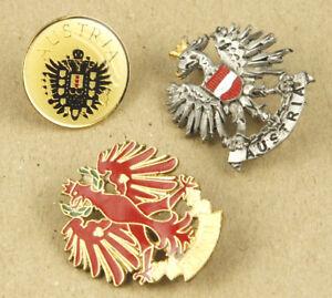 3x-Austria-Tirol-Vintage-Pins