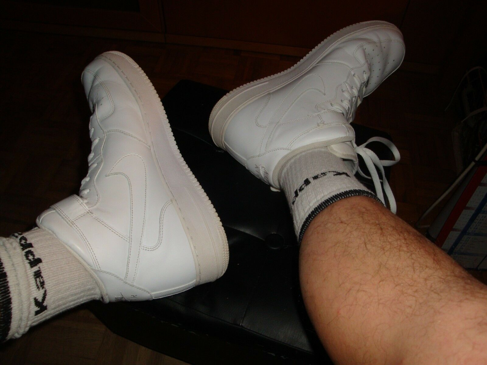 Nike Air Force One High   AF1 Used - baskets T. 48 1 2 Occasion  US 14   UK 13